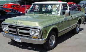 1972 GMC Pickup - Green - I Had This Truck, Same Colour Too. | My ...