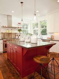 best 25 red kitchen island ideas on pinterest red kitchen
