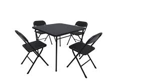 Finger-Amputating Card Table Set Recalled By Walmart Fniture Lifetime Contemporary Costco Folding Chair For Ideas Walmart Lawn Chairs Relax Outside With A Drink In Mesmerizing Tables Cheap Patio Set Find French Bistro And Lily Bamboo Riviera Folding Chairs Outdoor Rohelpco Mainstays Steel Black Tips Perfect Target Any Space Within The Product Recall 5 Piece Card Table Sold At Gorgeous At Amusing Multicolors