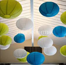 Free Shipping 10 Inch 25cm Round Chinese Paper Lantern Birthday Wedding Party Decor Gift Craft DIY Wholesale Retail In Lanterns From Home Garden On
