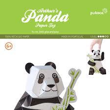 Printable Paper Crafts Pikachu Elegant Panda Toy Diy Craft Kit 3d Model Figure From