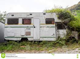 Abandoned Camper Stock Photos