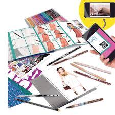 TOPModel 6461 Create Your Fantasy Princess Livre De Coloriage Avec Autocollants