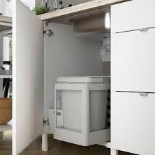 enhet küche hochglanz weiß 243x63 5x222 cm