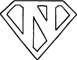 Information Views1K Prints242 Favorites4 Downloads53 Download Superman Logo Letter O Coloring Pages