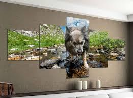 wohnzimmer wandtattoos und leinwandbilder günstig