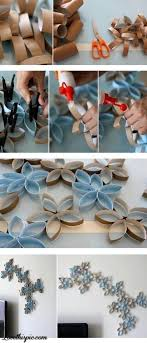 DIY Toilet Paper Rolls Wall Decor Diy Crafts Craft Ideas Easy Idea Home Vase For The Crafty