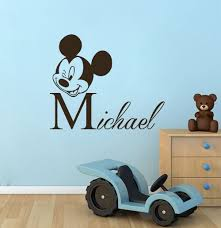 Mickey Mouse Bathroom Wall Decor by Cheap Mickey Mouse Wall Decor Personalised Home Design
