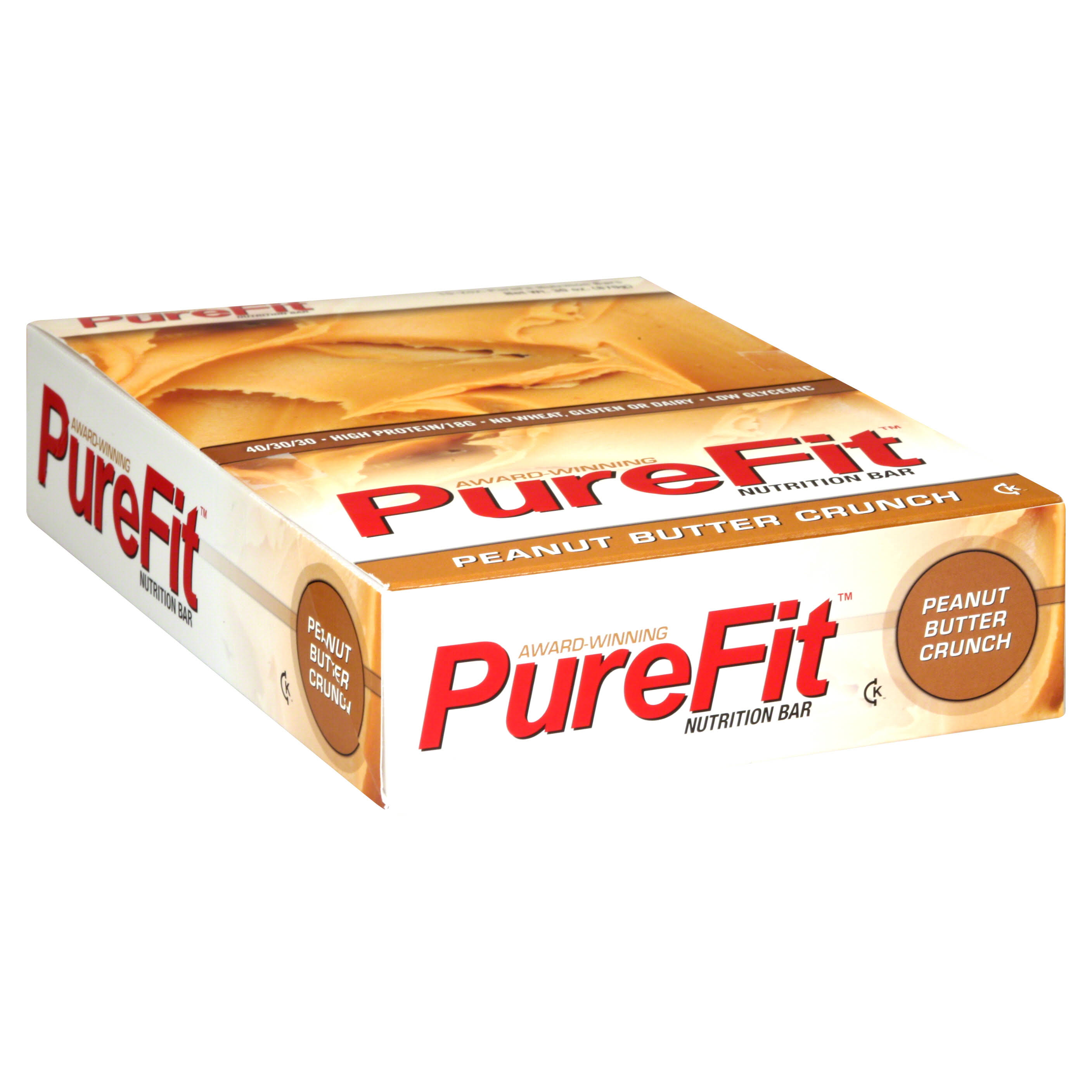 Purefit Nutrition Bars - Peanut Butter Crunch, 15ct, 2oz
