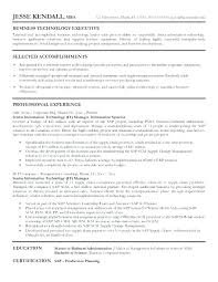 Resume Of It Manager Project New Fresh