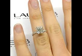 2 Carat Cushion Engagement Ring In Vintage Style