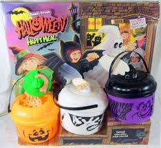Mcdonalds Halloween Pails 2015 by 41 Best Halloween Blowmold U0026 Vintage Images On Pinterest Meals