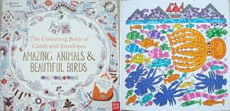 The Colouring Book Of Cards And Envelopes Amazing Animals Beautiful Birds A Review