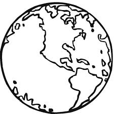 La Tierra Para Colorear HD DibujosWikicom