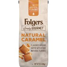BFolgersR Simply GourmetTM B Natural Caramel Flavored Ground