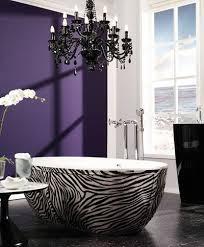 zebra tub 3 lila badezimmer haus deko design für zuhause