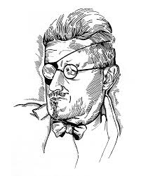 Joyce Drawn By Djuna Barnes   L O O K (see)   Pinterest   James ... Ernie Barnes Thetwodoarbill The Oxford Artists Guild Of Missippi Local Art Scenes George Went Swimming At Hole But It Got Too Cold Sage 151 Best Images On Pinterest African Art Black Artwork And Jeanette Barnes Google Search Charcoal Batman Bucky Jason Todd Storyboard By Lokiescape Philly Finest From The New Museum Beyond City Is Foundation Barnesde Mazia Certificate Program Kenise Barnes Fine Art American Dream Ernie Mental Floss Chinese Buddhist A Journey Across Time