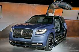 Detroit - Lincoln Reimagines Big Navigator SUV As 'Personal Sanctuary' Spied 2018 Lincoln Navigator Test Mule Navigatorsuvtruckpearl White Color Stock Photo 35500593 Review 2011 The Truth About Cars 2019 Truck Picture Car 19972003 Fordlincoln Full Size And Suv Routine Maintenance Used Parts 2000 4x4 54l V8 4r100 Automatic Ford Expedition Fullsize Hybrid Suvs Coming Model Research In Souderton Pa Bergeys Auto Dealerships Tag Archive Lincoln Navigator Truck Black Label Edition Quick Take Central Florida Orlando