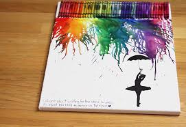 Crayon Art 2 Projects For Teens Cool Arts And Crafts Ideas Kids Even Adults Cheap Fun