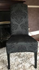 Next Black Damask Dining Chairs X 2 Stretch Jacquard Damask Armchair Cover Ding Chair Slipcovers Pier 1 Carmilla Blue Valraven Room Table Ashley Fniture Homestore Plush Slipcover Sage Throw Loveseat In 2019 White Rj04 Christmas For Sebago Arm Host Chairs Austin Natural Wing 13pc Linen Set Tables Sets Ctham Accent Black Velvet At Home Classic Parsons Red Gold Cabana Stripe Short Covers Of 2