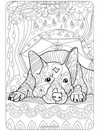 Coloring Pages To Project For Awesome Book Dogs
