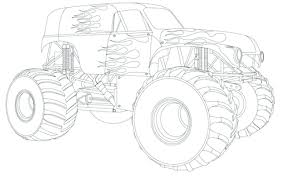 100 Monster Trucks Free Games Top 53 Fabulous Truck Coloring Pages Printable