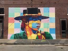 Deep Ellum Murals Address by Local Muralist Steve Hunter Paints Three Tributes To Dallas Music