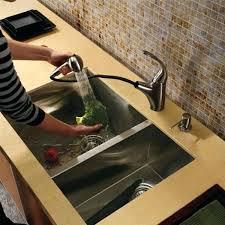 Kraus Kitchen Faucet Home Depot by Kitchen Faucet Combo Sink And Home Depot Undermount Moen