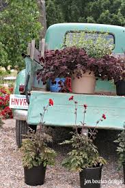 Old Trucks And Fresh Flowers