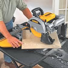 Mk Tile Saw Home Depot by 28 Tile Wet Saw Dewalt 174 D24000 10 Quot Wet Tile Saw Shop