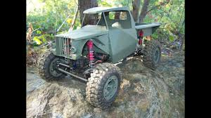100 Homemade Rc Truck RC Metal Build 110 22 Worm Gear Drivetrain YouTube