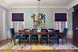 View In Gallery Play With Different Colors To Create A Vibrant Dining Room Design Andrea Schumacher Interiors