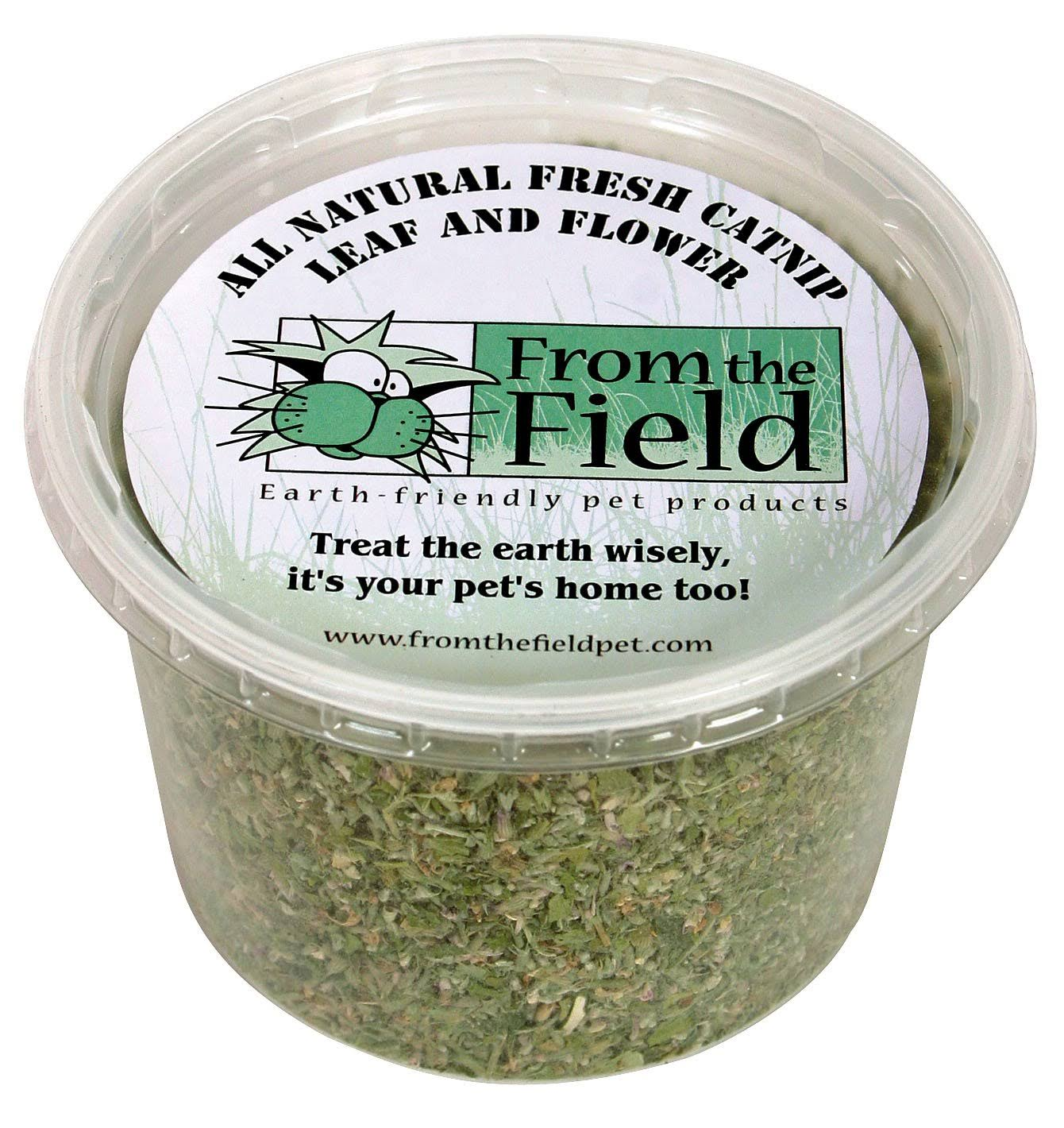 from The Field 2-Ounce Catnip Leaf and Flower Tub
