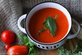 geröstete tomatensuppe aus dem ofen