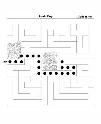 Bible Activity Maze Answer