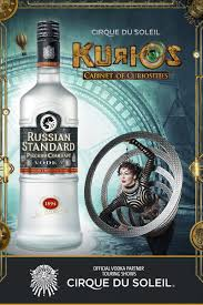 Kurios Cabinet Of Curiosities by Russian Standard Vodka Signs On With Cirque Du Soleil As