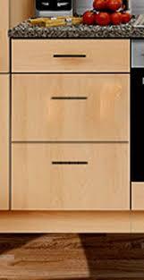 unterschrank mankaportable buche ohne arbeitsplatte bxt 60 60cm küche schubkastenschrank