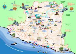 Bandung Map Tourist City