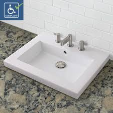 Decolav Sinks Home Depot by Bathrooms Design Cwh Low Profile Bathroom Sink Decolav Corrina