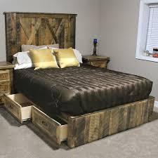 bed frames rustic king bed modern rustic bedroom furniture