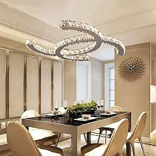 led kristall hängele 36w pendelleuchte moderne esstisch kreative design led len decken kristallleuchte esszimmer deckenleuchte hängeleuchte für