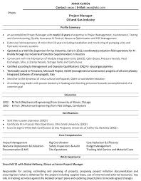 Sample Resume Engineering Director With Project Manager Samples To Frame Awesome Mechanical