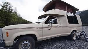 Enthusiasts: This Ford Ranger Roll-A-Long Camper Is The Compact RV ...