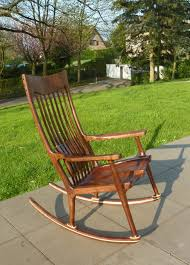 A Short Maloof Style Rocking Chair - FineWoodworking