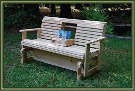 bench top amazing wooden glider with regard to household plan diy