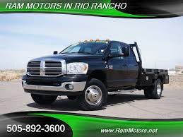2009 Dodge Ram 3500 SLT Flatbed Diesel For Sale In Albuquerque, NM ... File2006 Dodge Ram 3500 Mega Cab Dually 4x4 Laramie Rr For Sale In Texas Nsm Cars 2011 Heavy Duty Crew Flatbed Truck 212 Equipment How The Makes 900 Lbft Of Torque Autoguidecom News New 2018 Pickup In Red Bluff Ca Hd 2010 Dodge Ram Slt Regular Cab Flat 6 7l Diesel 4x4 Des Moines Iowa Granger Motors 2014 For Sale Vernon Bc Used Sales 2009 Diesel Alburque Nm Peace River Custom Poses On Brushed Wheels Carscoops
