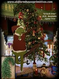 The Grinch Xmas Tree by Primitive 10 Foot Bendable Grinch Tree
