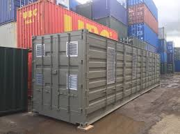 100 Shipping Container 40ft Conversion Biomass Container Conversion