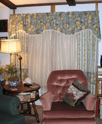 Dining Room An Elegant Long Valances For Living Room Windows In