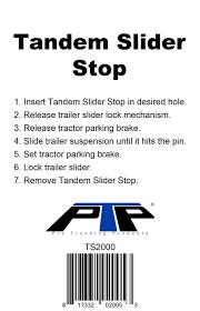 100 Truck Tandems Amazoncom Tandem Slider Stop Automotive